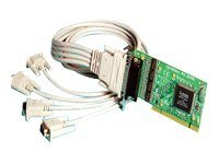 Brainboxes 4-port LP-UPCI RS232 Low Profile Serial Card