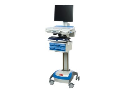 Rubbermaid M38 XP Cart with Electronic Lift, AC, 55-Amp SLA, 1806452, 13064505, Computer Carts