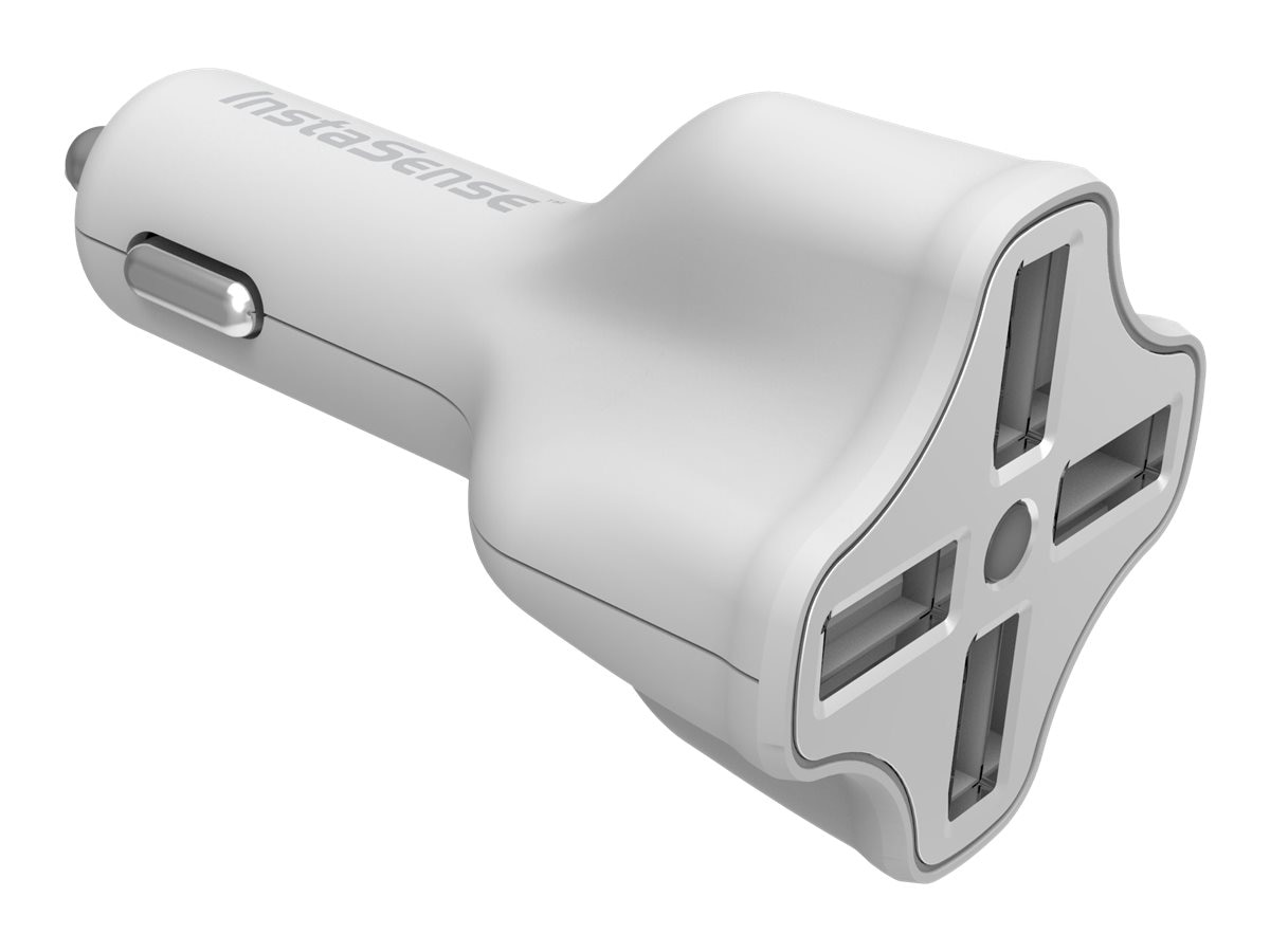 Digipower 4-Port USB Car Charger, PC-406i, 17745092, Automobile/Airline Power Adapters