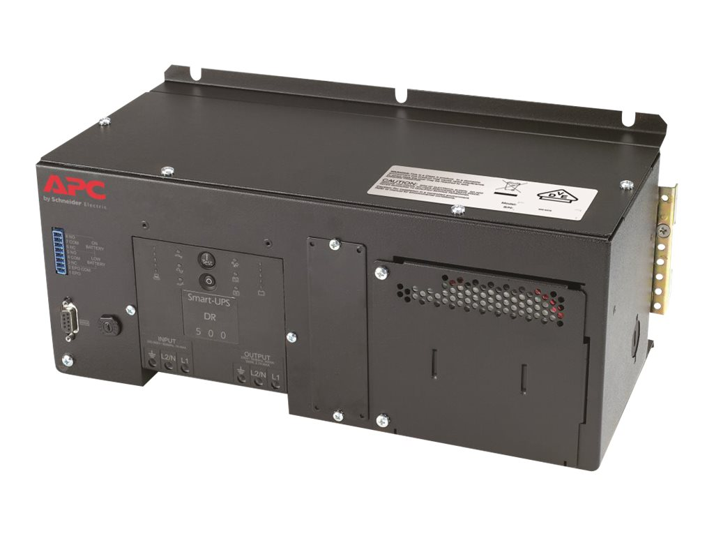 APC DIN Rail Panel Mount 500VA 230V Industrial UPS with Standard Battery, SUA500PDRI-S, 16380423, Battery Backup/UPS