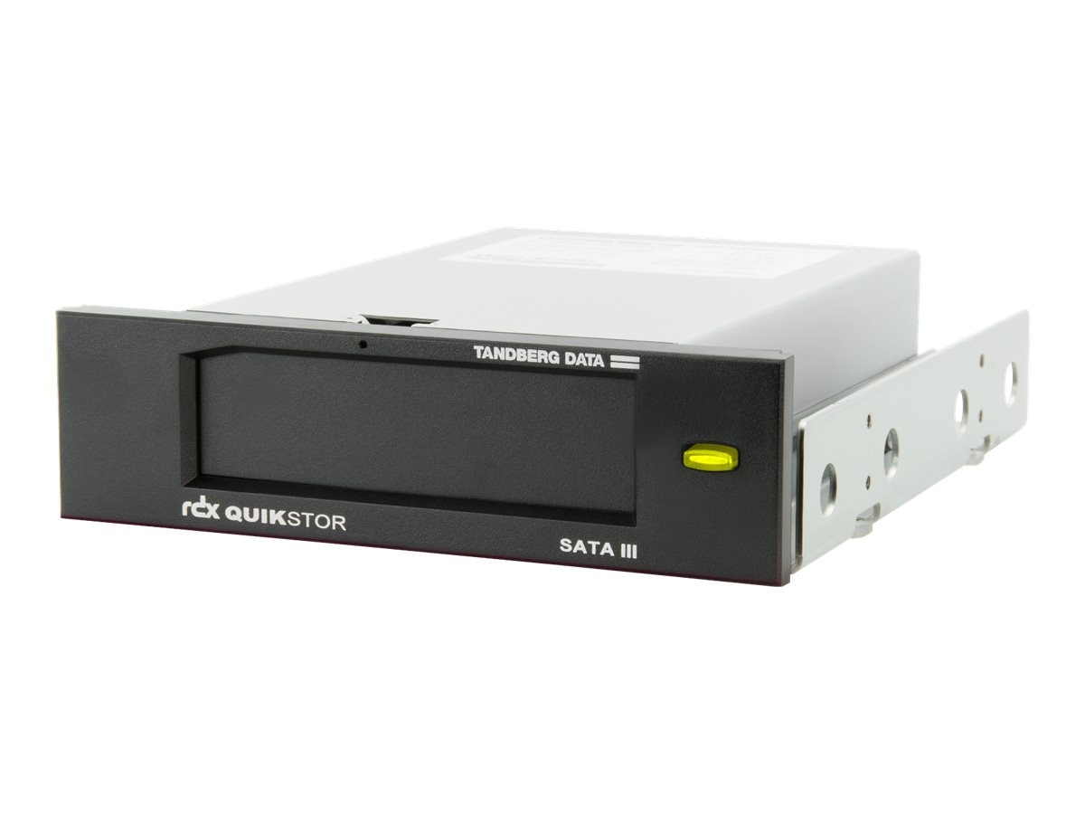 Overland Tandberg RDX SATA 6Gb s 5.25 Internal Bare Drive w  Bezel & AccuGuard Software