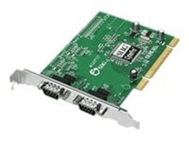 Siig 2-port DB9 Serial RS232 16950 Full Height PCI Controller, JJ-P20911-S7, 13262974, Controller Cards & I/O Boards