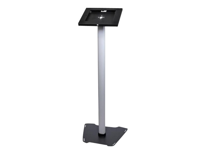 StarTech.com Lockable Floor Stand for iPad, Black Silver, Instant Rebate - Save $13