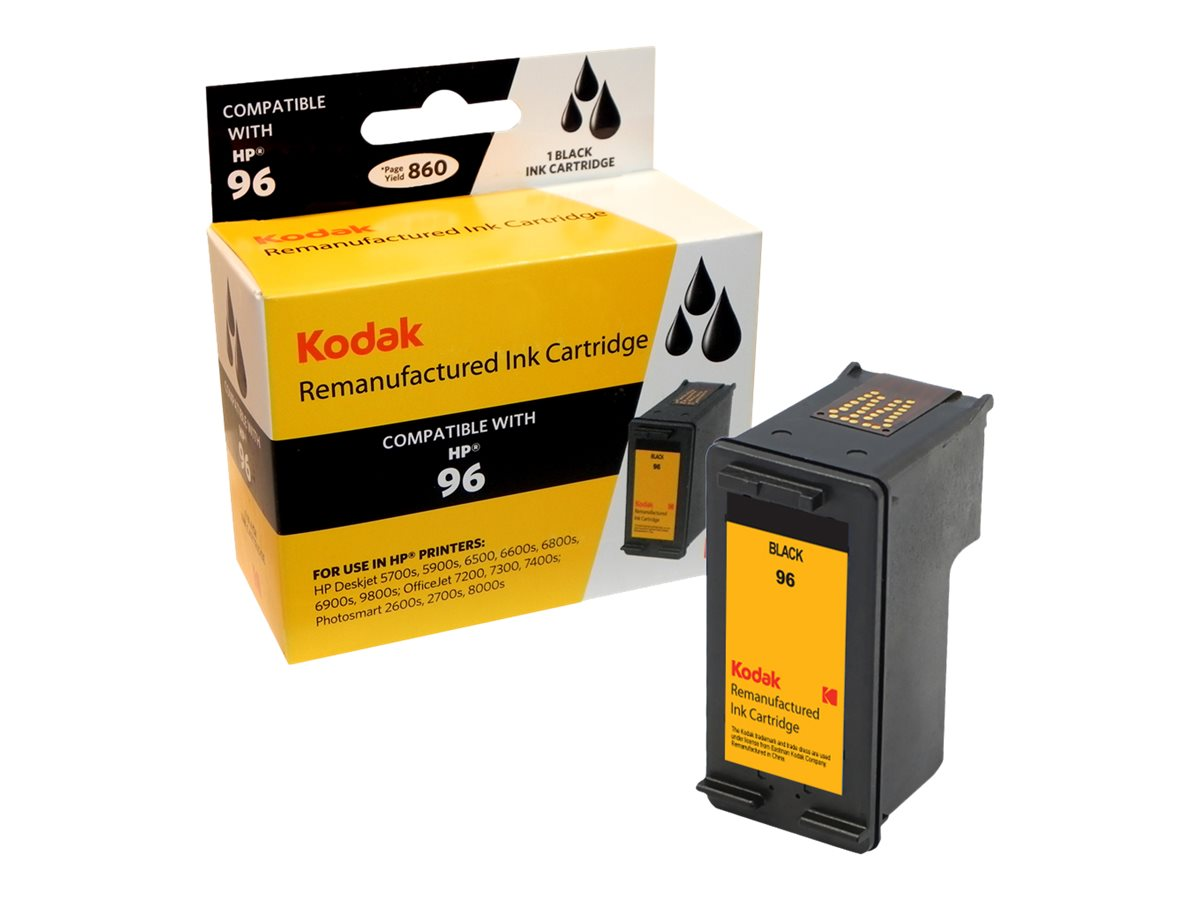 Kodak C8767WN Black Ink Cartridge for HP Deskjet 5700 & 5740, C8767WN-KD, 31286208, Ink Cartridges & Ink Refill Kits