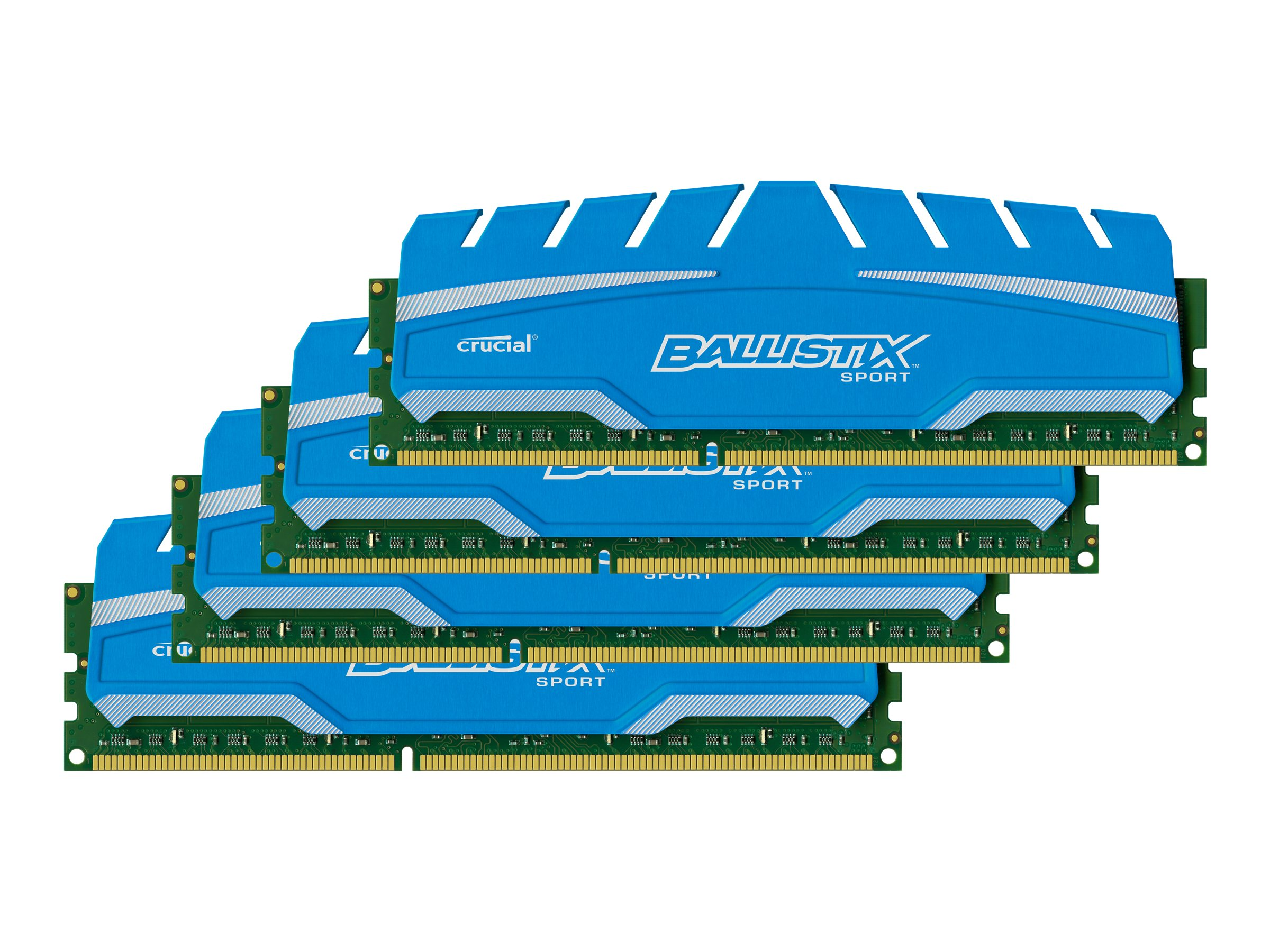 Crucial 16GB PC3-14900 240-pin DDR3 SDRAM UDIMM Kit