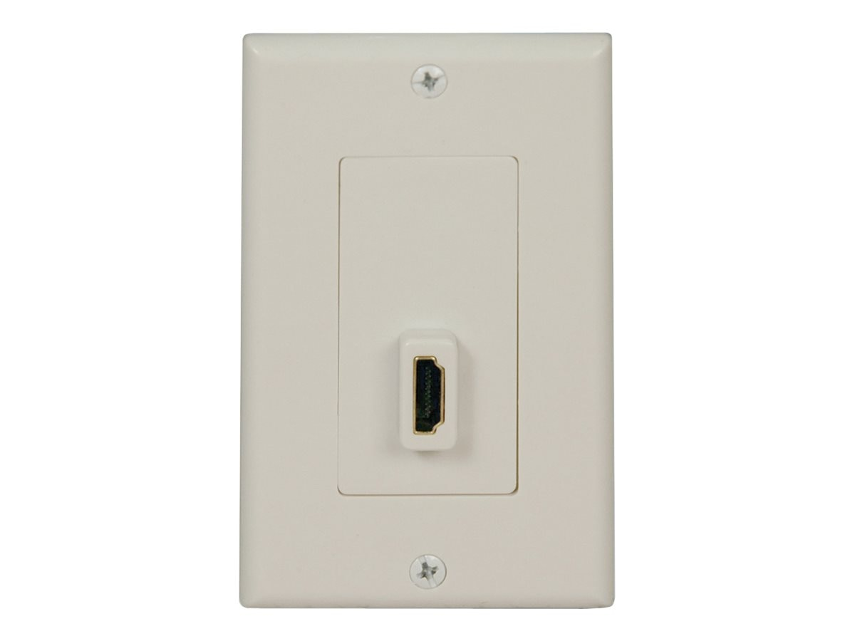 Tripp Lite HDMI Send Receive Pass-Through Wallplate, P166-001-P