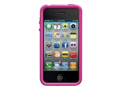 Imation TuffWrap for iPhone 4, Pink, 02233, 11842211, Carrying Cases - Phones/PDAs