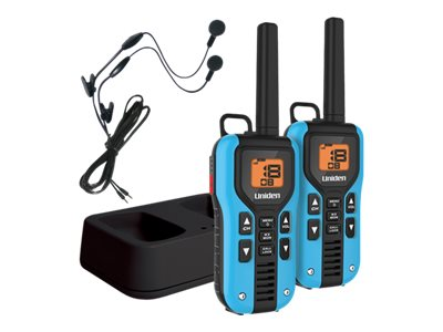 Uniden GMRS FRS 40-Mile Radio w  Privacy Codes, Weather Alerts & Headsets, GMR4055-2CKHS, 31643501, Two-Way Radios