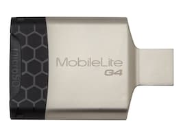 Kingston MobileLite G4 USB 3.0 Multi-Card Reader, FCR-MLG4, 17436661, PC Card/Flash Memory Readers