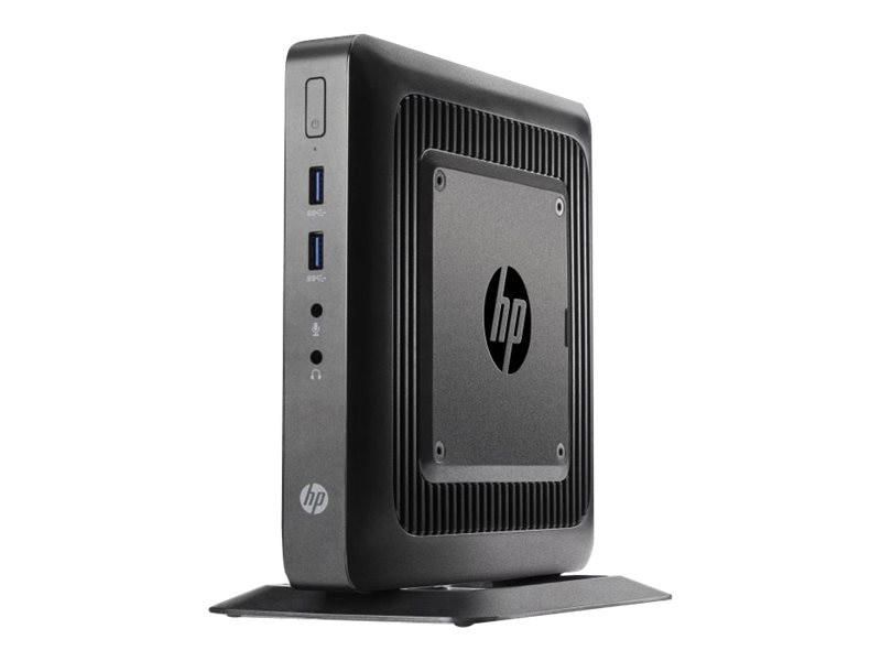 HP t520 Flexible Thin Client AMD DC GX-212JC 1.2GHz 4GB RAM 16GB Flash GbE agn BT WES7E, G9F10AA#ABA
