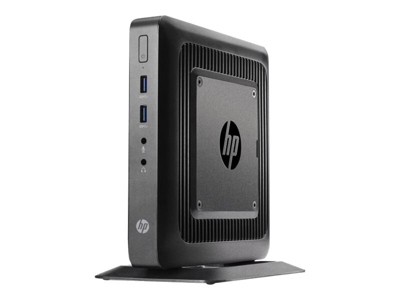 HP t520 Flexible Thin Client AMD DC GX-212JC 1.2GHz 4GB RAM 16GB Flash GbE agn BT WES7E, G9F10AA#ABA, 17706421, Thin Client Hardware