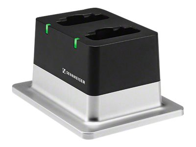 Sennheiser 2-Bay Table Top Charger w  Power Supply, 506219