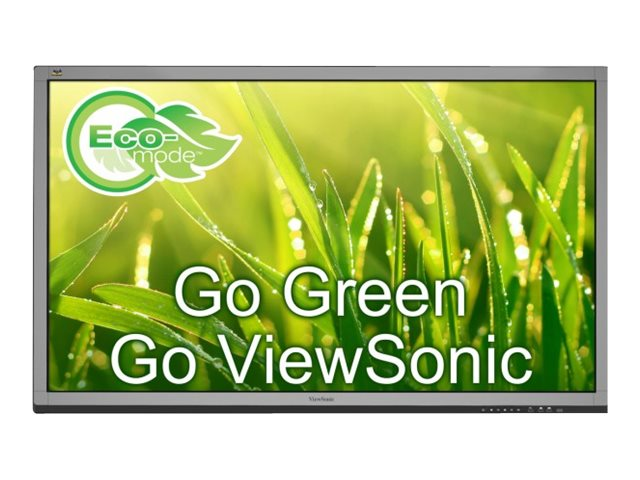 ViewSonic 64.5 CDE6560T Full HD LED-LCD Touchscreen Monitor, Black, CDE6560T, 30863974, Monitors - Large-Format LED-LCD