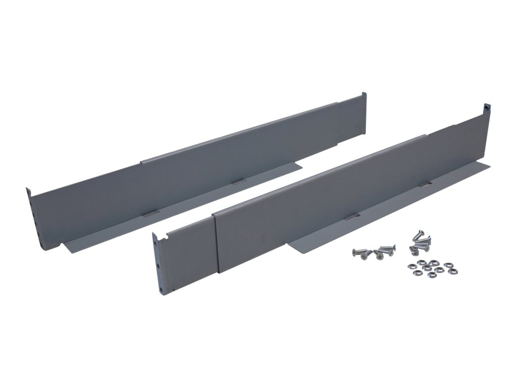 Tripp Lite SmartRack Mounting Rail Kit for 4-Post Rackmount Installation of Select UPS Systems, 4POSTRAILKITHD, 30540569, Rack Mount Accessories