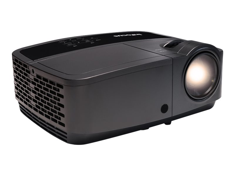 InFocus IN116x WXGA 3D DLP Projector, 3200 Lumens, Black, IN116X, 28347891, Projectors