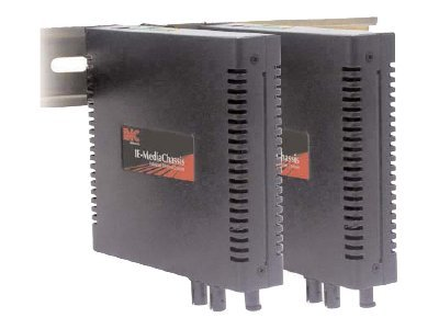 IMC IE-MediaChassis 1-AC with AC Power, Extended Temperature, 0C to 50 C, 850-33100, 7989261, Adapters & Port Converters