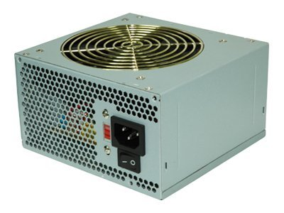 Coolmax V-500 ATX Power Supply, 500 Watt, Silent 120mm Fan, 14621, 9711159, Power Supply Units (internal)