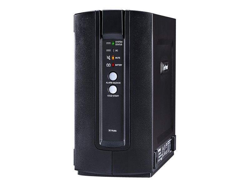 CyberPower 7.2Ah 36W 12V Indoor UPS, DTC36U12V-NA3-G, 30930031, Battery Backup/UPS