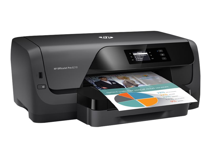 HP Officejet Pro 8210 Printer, D9L64A#B1H