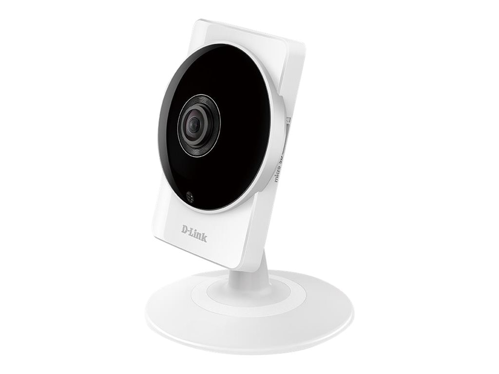 D-Link HD 180-Degree Wi-Fi Camera, White