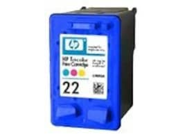 West Point C9352AN 114548 HP 22 Tri-Color Ink Cartridge for Select DeskJet, Officejet & PSC Printers, C9352AN/114548, 7175840, Ink Cartridges & Ink Refill Kits
