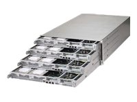 Supermicro SuperServer F617H6 Hadoop 4U RM 4-Node Xeon E5-2600 Family Max.512GB DDR3 8x3.5 HS Bays 2x1620W