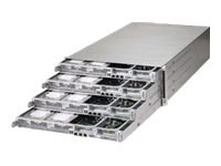 Supermicro SuperServer F617H6 Hadoop 4U RM 4-Node Xeon E5-2600 Family Max.512GB DDR3 8x3.5 HS Bays 2x1620W, SYS-F617H6-FT+, 15929517, Barebones Systems