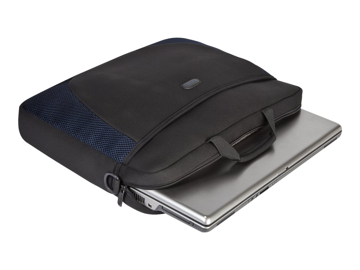 "Targus 17"" Laptop Sleeve, Black, CVR217, 5146236, Carrying Cases - Notebook"