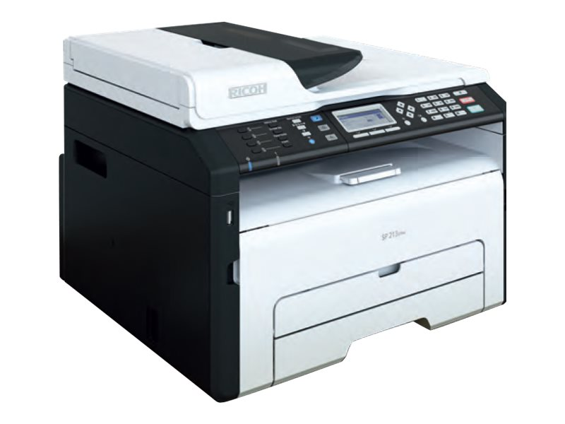 Ricoh SP 213SFNw BW Laser Printer, 407592, 17923418, Printers - Laser & LED (monochrome)