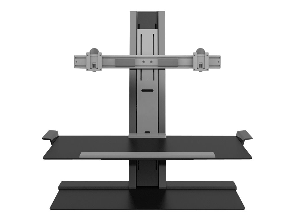 Humanscale Quickstand 2 Monitor Standing Base, Black