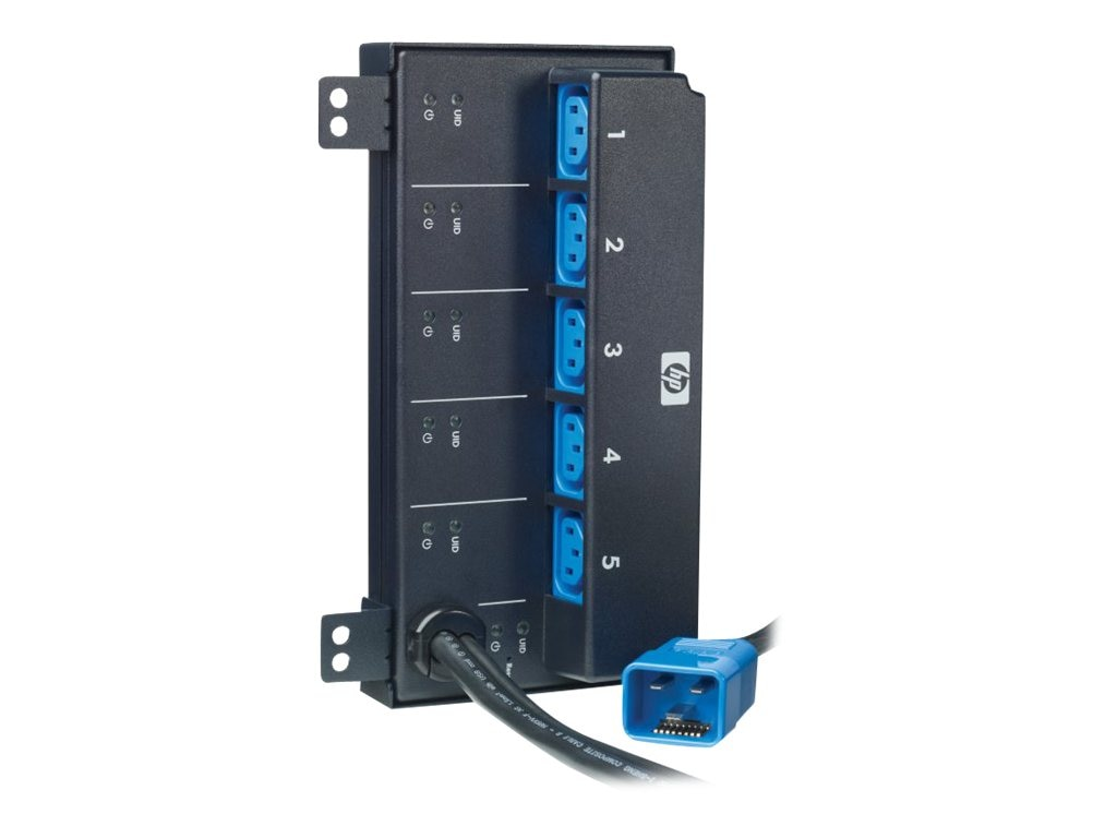 HP Intelligent PDU Extension Bar G2 Kit (5) C13, AF547A, 13712939, Power Distribution Units