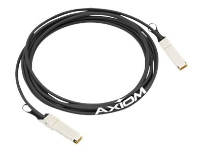 Axiom 40GBASE-CR4 QSFP+ Passive Jumper Cable, 3m, EXQSF40GDA3M-AX
