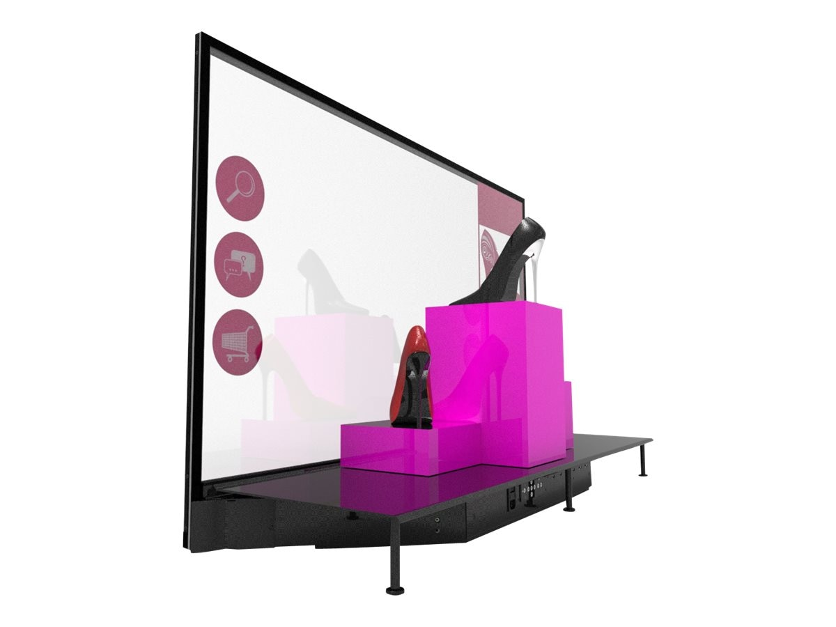 Planar 55 LO55-S-T Transparent OLED Touchscreen Display with Straight Mount, 997-8245-00