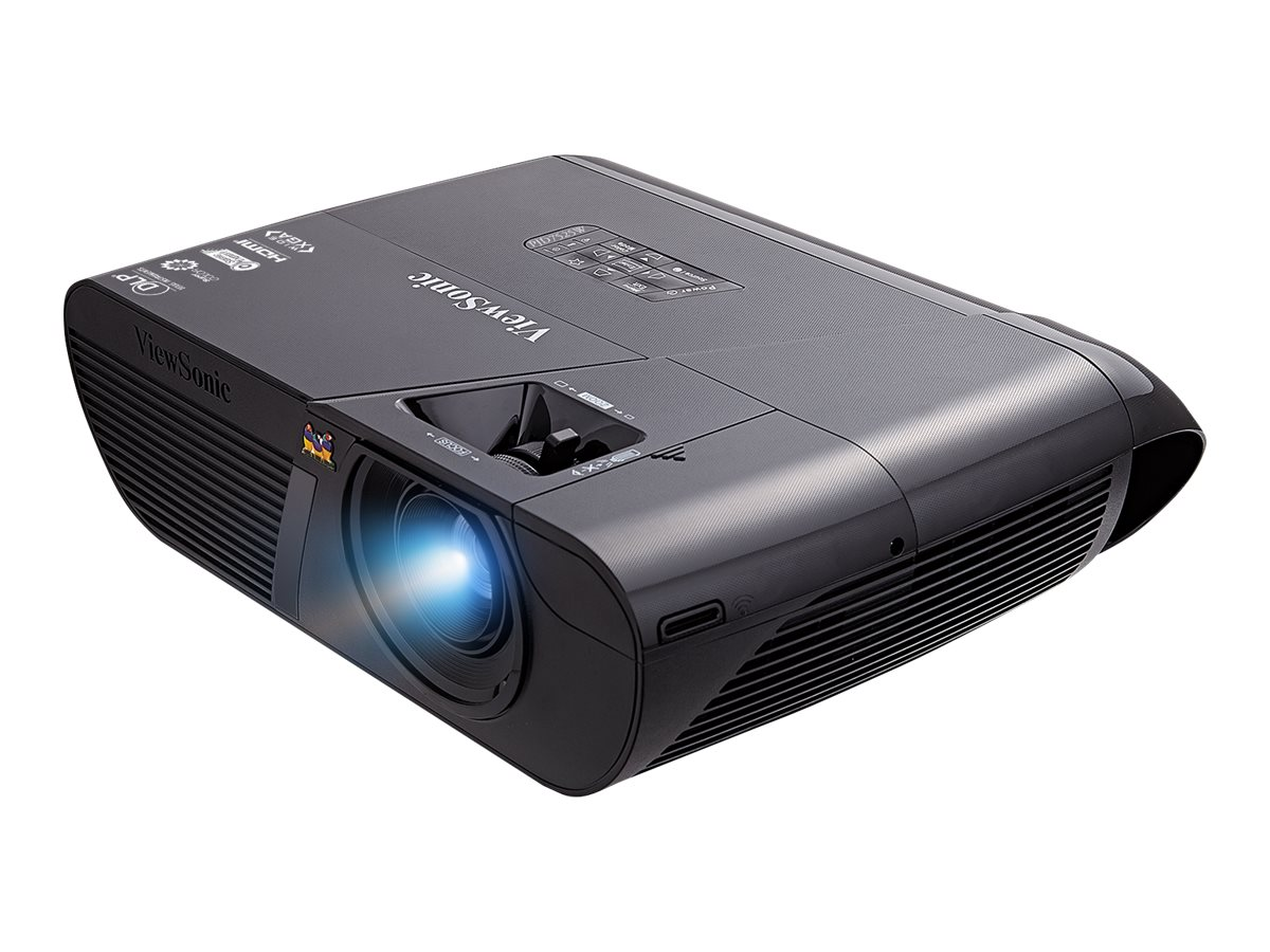 ViewSonic LightStream PJD7525W WXGA DLP 3D Projector, 4000 Lumens, Black, PJD7525W