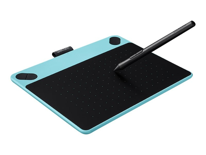 Wacom Intuos Draw Creative Pen Tablet, Small, Blue, CTL490DB, 30543911, Graphics Tablets