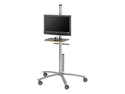 Bretford Manufacturing Freestanding Cart for 32-42 Flat Panel Monitors, V200 VESA Mount, FPP72V200, 7740319, Computer Carts