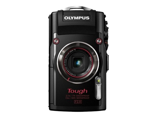 Olympus Stylus TOUGH TG-4 Digital Camera, 16MP, 4x Zoom, Black, V104160BU000