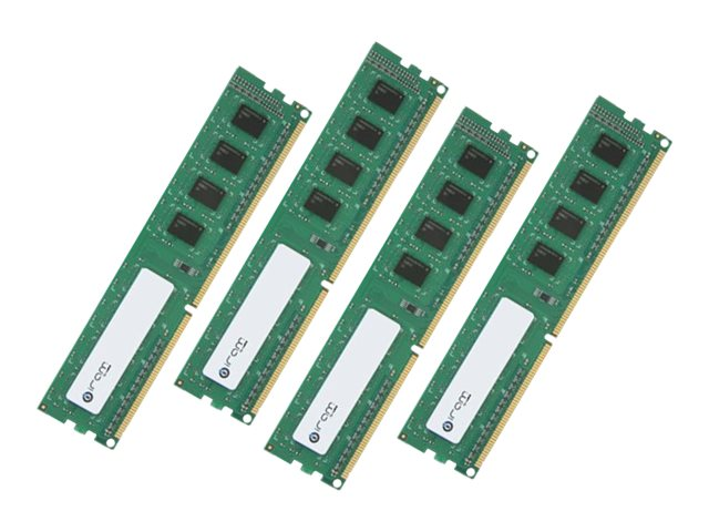 Edge 128GB PC3-10600 240-pin DDR3 SDRAM DIMM Kit, MAR3R1339T32G44X4, 31760740, Memory