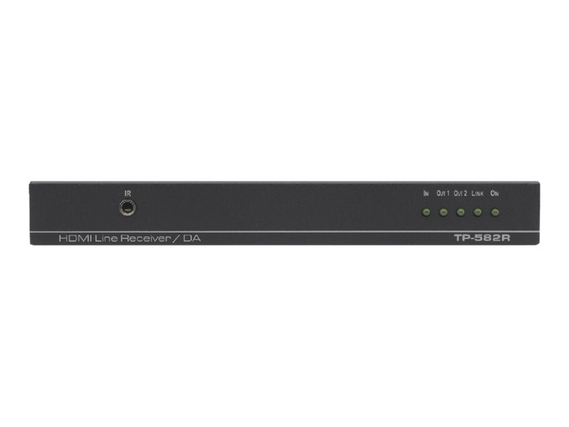 Kramer 1:2 HDMI Plus Bidirectional RS-232, Ethernet & IR over HDBaseT Twisted Pair Receiver, TP-582R