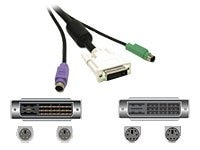 C2G Easy Extender 3-in-1 DVI Extension Cable, 3m, 27946, 6303838, Video Extenders & Splitters