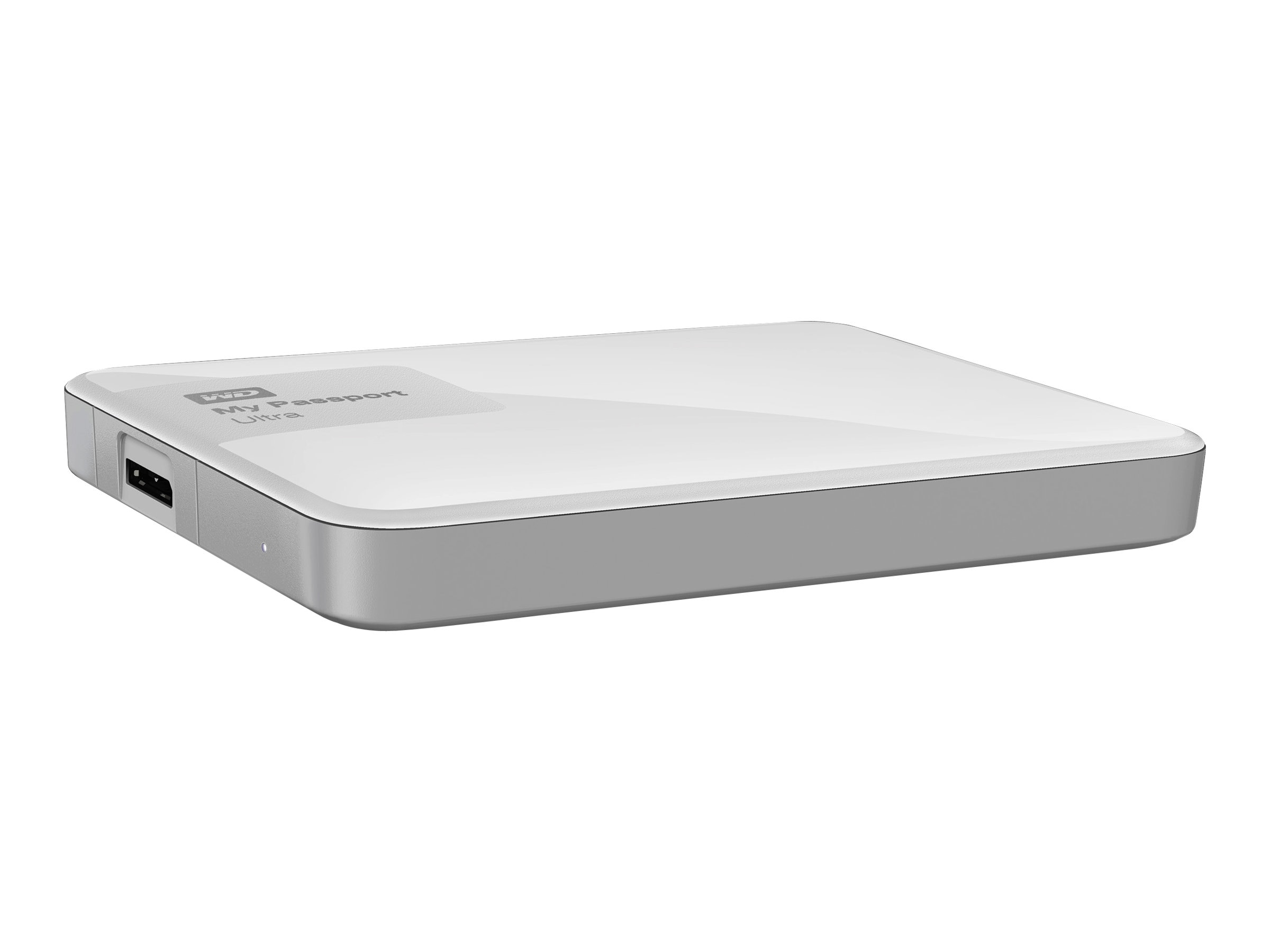 WD 2TB My Passport Ultra Portable Hard Drive - White, WDBBKD0020BWT-NESN