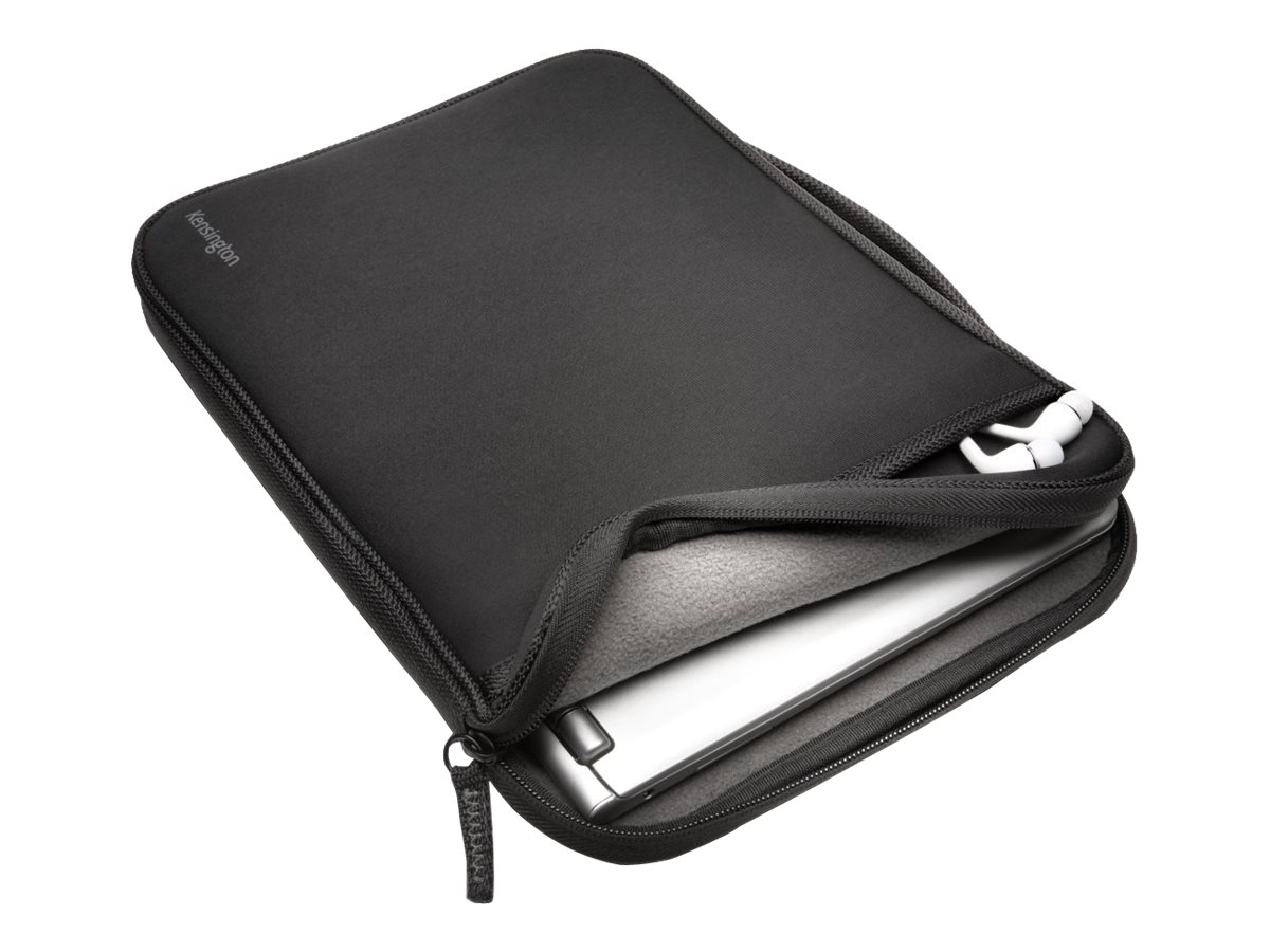 Kensington Soft Universal Sleeve for 11.6 Laptops Tablets, Black, K62609WW, 18017409, Carrying Cases - Notebook