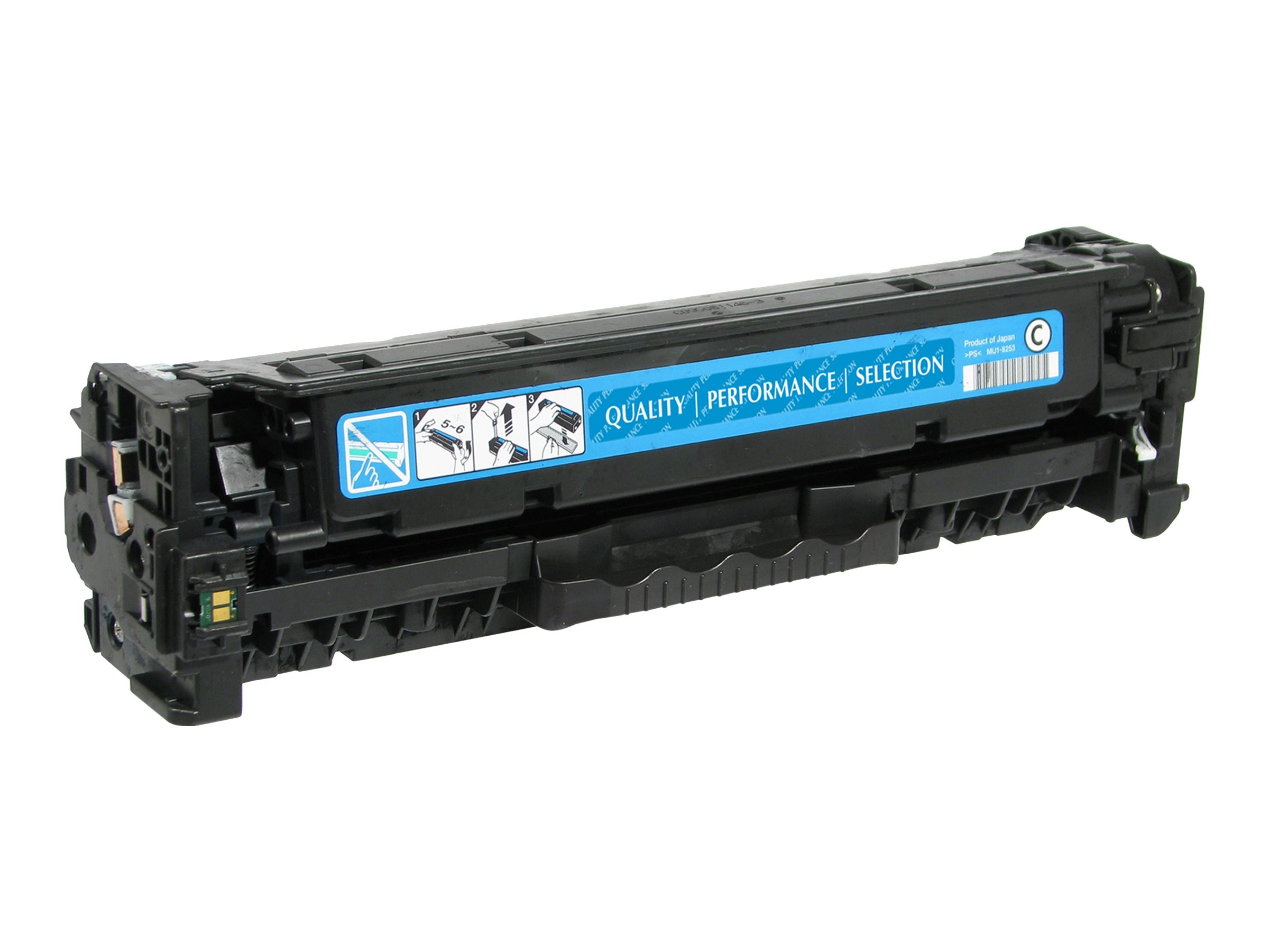 V7 CE411A Cyan Toner Cartridge for HP LaserJet Pro Color M375 M451
