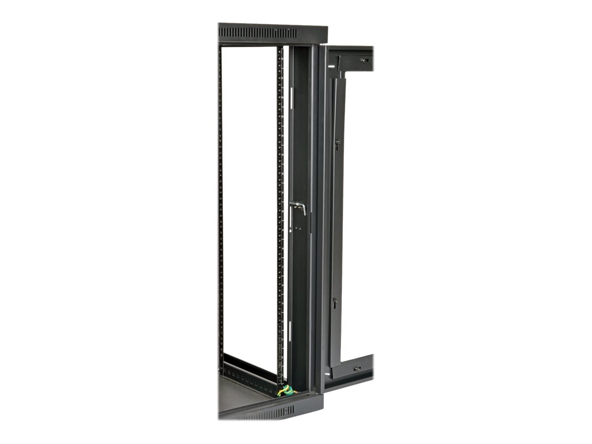 Tripp Lite SmartRack Wall-Mount Rack Enclosure Cabinet, 18U UPS-Depth, Clear Acrylic Window, Hinged Back, SRW18USDPG
