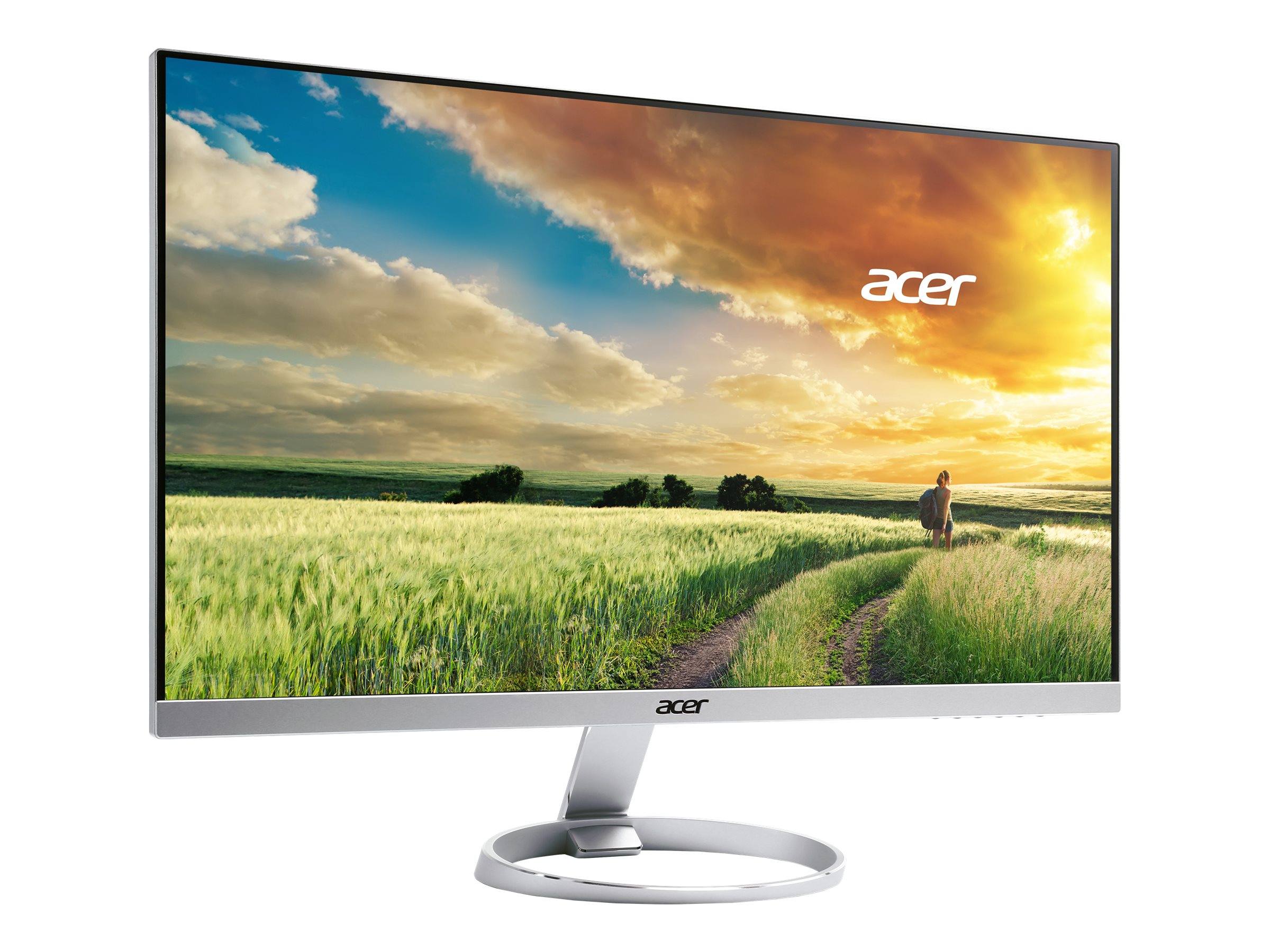 Acer 25 H257HU SMIDPX WQHD LED-LCD IPS Monitor, Silver Black, UM.KH7AA.001