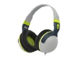 Skullcandy Hesh 2 Wireless Bluetooth Headphones - Grey Hot Lime, S6HBGY-384, 19508381, Headsets (w/ microphone)