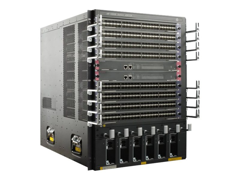 HPE 10508 Switch Chassis, JC612A, 13411520, Network Switches