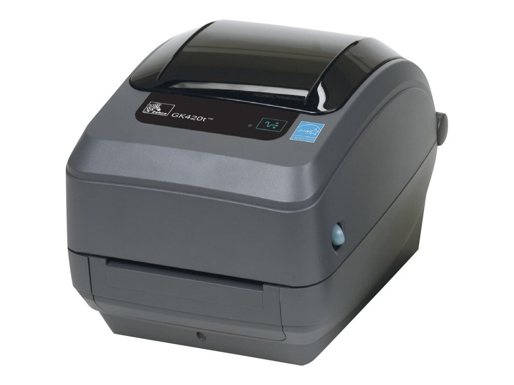 Zebra GK420 TT 203dpi EPL ZPL 4MB Flash 8MB SDRAM USB Ethernet Printer (US Power), GK42-102210-000, 13145559, Printers - Label