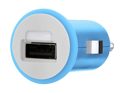 Belkin Mixit Up Car Charger 5 Watt 1 Amp, Blue, F8J018TTBLU, 15756214, Automobile/Airline Power Adapters