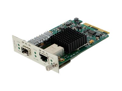 ACP-EP 10Gbps RJ-45 to SFP+ Media Converter, ADD-MCC10GRJSFP